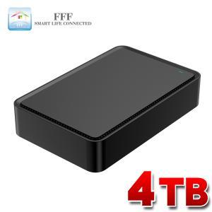 外付け HDD ハードディスク 4TB Windows10対応 TV録画 REGZA ブラック|marshal