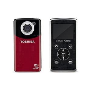 東芝 TOSHIBA ビデオカメラ Camileo Air10 PA3906U-1C1R 【SDカー...