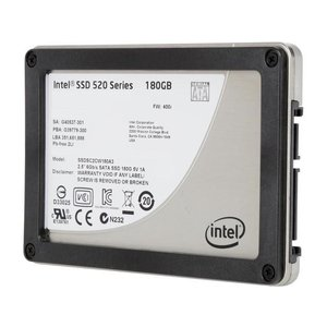 インテル SSD 中古 180GB MLC SATA 6Gb/s 2.5インチ 520シリーズ SSDSC2BW180A3|marshal