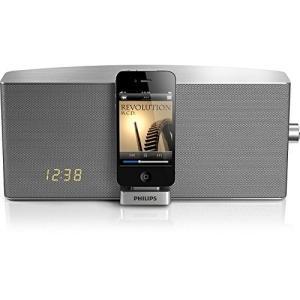 PHILIPS フィリップス ドッキングステーション TCI360 iPod iPhone6 iPhone6PLUS対応 AUX INケーブル付 高出力20Wスピーカー|marshal