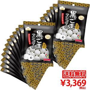 【送料無料】黒ごまマシュマロ 2ケース(24袋)|marshmallowland