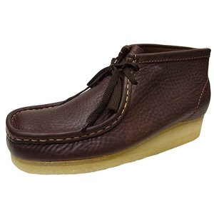 CLARKS WALLABEE BOOT BROWN OILY クラークス ワラビー ブーツ ブラウン 茶 オリジナルス オイリー|marsone
