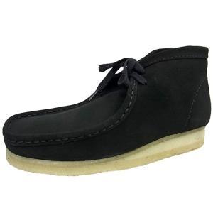CLARKS WALLABEE BOOT BLACK SUEDE クラークス ワラビー ブーツ ブラック スエード オリジナルス 黒|marsone