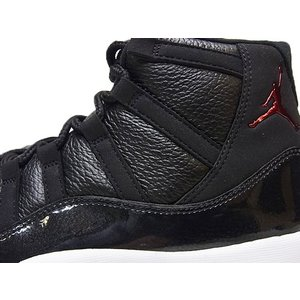 NIKE AIR JORDAN11 RETRO 72-10 ナイキ エア ジョーダン11 レトロ 黒 AJ11 BLACK/GYM RED/WHITE/ANTHRACITE|marsone|02