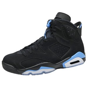 NIKE AIR JORDAN6 RETRO BLACK/UNIVERSITY BLUE ナイキ エア ジョーダン6 黒/ユニバーシティー ...