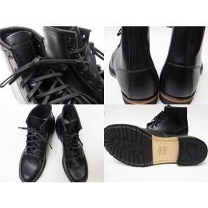 RED WING BECKMAN BOOTS レッドウイング ベックマン ブーツ 9014 BLACK ブラック 黒 Dワイズ MADE IN USA|marsone|03