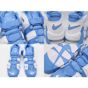 ナイキ エア モア アップテンポ NIKE AIR MORE UPTEMPO '96 UNIVERSITY BLUE/WHITE ユニバーシティーブルー 水白|marsone|03