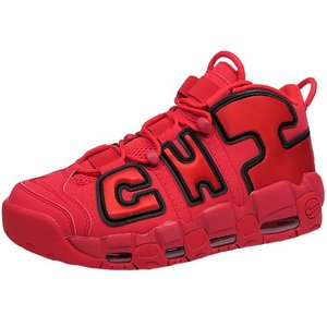 best website ef562 38b2c ナイキ エア モア アップテンポ シカゴ 赤 NIKE AIR MORE UPTEMPO CHI QS CHICAGO RED| ...