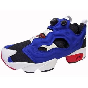 Reebok INSTA PUMP FURY OG リーボック インスタ ポンプフューリー BLACK/ROYAL BLUE/WHITE/RED 黒/青/白/赤|marsone
