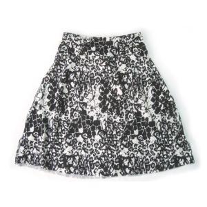 (1■1B)Colorado Clothing  レディース Aラインスカート ブラック(プリント) 〓BTE コストコ/スカート/スポーツ|mart-net