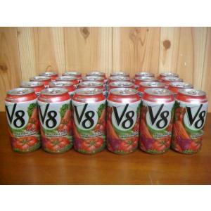 (2■3B)【V8】野菜ミックスジュース 340ml×24本  /● w7x mart-net