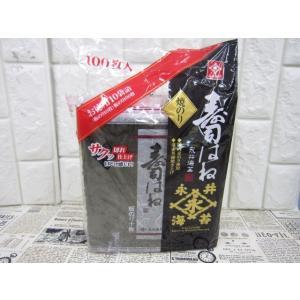 (0●3C)訳永井海苔 寿司はね 板のり10枚×10袋/● w5x|mart-net