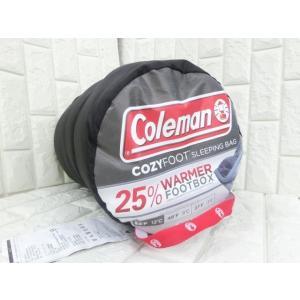 (4■3C)訳コールマン COZYFOOT  スリーピングバッグ寝袋 /●|mart-net
