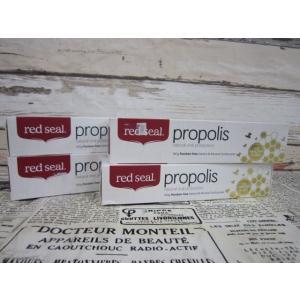 (0●3C)レッドシール プロポリス 練り歯磨き粉 160g×4箱/● w7x|mart-net