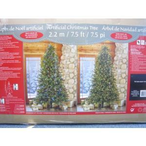 (3■6C)クリスマスツリー 2.2m アスペン ヌードツリー電装付/▲XK m6x|mart-net