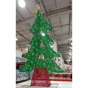 (3■6B)簡易 ジグザグ クリスマスツリー イルミネーション 180cm /▲CB m2x|mart-net