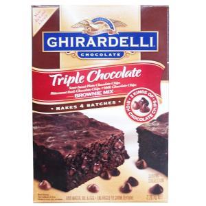 (0■3B)ギラデリ トリプルチョコレート ブラウニーミックス 2.26kg(565g×4袋)/●|mart-net