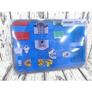 (4●1C)cocoon GRID-IT インナーケース A4サイズ青/●