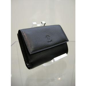 チーバ/CIVA 1714VOLA レザー二つ折り財布 ブラック 決算セール日本正規品 50%OFF |marthnagoya
