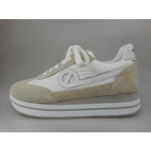 ノーネーム/NO NAME EDEN JOG NYLON ホワイト  美脚スニーカー 靴 【特別SALE品】【20%OFF】|marthnagoya