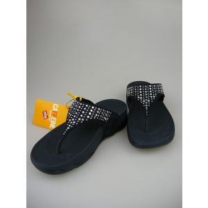 FitFlop フィットフロップ NOVY   ノビー ネイビー(MICROFIBBER)【日本正規品】【サンダル  レディース 靴 シューズ エクササイズ コンフォート 】|marthnagoya