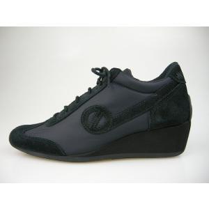 ノーネーム/NO NAME YOKO ZIP JOG ナイロン ブラック  美脚スニーカー 靴|marthnagoya