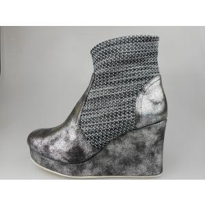 ノーネーム/no name HOLY NEW BOOTS GRAVITY シルバー ブーツ 靴【限定モデル】【再入荷ナシ】|marthnagoya