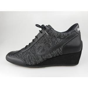ノーネーム/NO NAME YOKO JOG ANVERS ブラック   美脚スニーカー 靴|marthnagoya