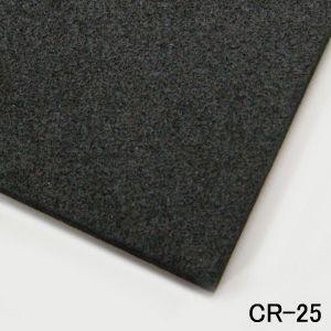 ゴムスポンジシート CR-25 厚み4mm x 1M x 1M (サイズ若干余裕があります)|maru-suzu