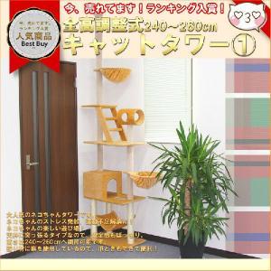 キャットタワー ネコちゃんタワー(1)/ネコタワー1|marubi