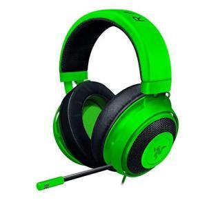 Razer Kraken Green ゲーミングヘッドセット アナログ接続 PS4 PC Switch スマートフォン 冷却ジェルパッド 日|marucomarket