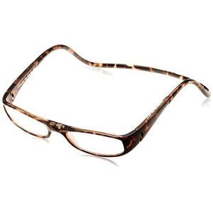 クリックリーダー 老眼鏡 CliC Euro メンズ ブラウン 日本 +2.00-(日本サイズM相当)|marucomarket