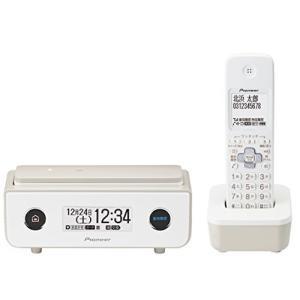 パイオニア TF-FD35W デジタルコードレス電話機 子機1台付き/迷惑電話防止 マロン TF-FD35W(TY)|marucomarket