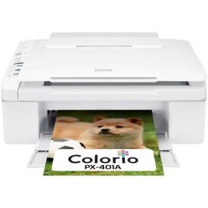 エプソン カラリオ 普通紙くっきり複合機 4色顔料インク PX-401A|marucomarket