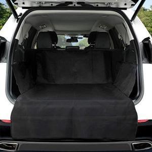 KYG ペット用ドライブシート 新型 トランクマット 多機能ノンスリップマット 犬 シートカバー ペットシート カー用品 車後部座席 車載カ marucomarket