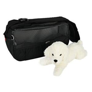 Highkit 通気性抜群 ペット スリングバッグ 小型犬 抱っこ紐 減圧ベルトの犬 猫用 キャリー バッグ ドッグスリング 底が厚くなる|marucomarket