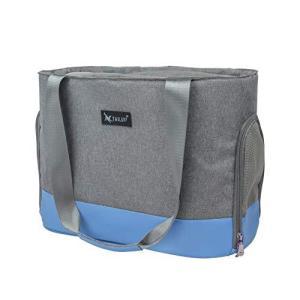 TAIL UP ペット用キャリーバッグ ハンドル/ショルダー2WAYペットバッグ 肩掛けペットスリング ドッグ/キャットスリング 調整可能|marucomarket