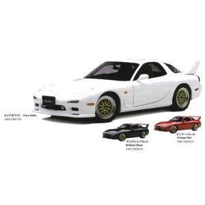 マツダコレクション モデルカー 1/18 アンフィニ RX-7 FD3S TUNED VER. ピュアホワイト 38BC98870H|marucorp