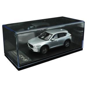 マツダコレクション モデルカー 1/43 CX-5 2017 マツダ専用パッケージ仕様 ソニックシルバーメタリック 38BM98180H|marucorp