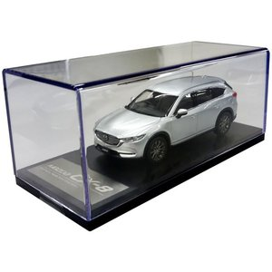 マツダコレクション モデルカー 1/43 CX-8 2017 マツダ専用パッケージ仕様 ソニックシルバーメタリック BM9794|marucorp