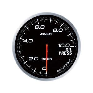 デフィ メーター Defi-Link Meter ADVANCE BF アドバンスBF φ60 油圧計 0kPa〜1000kPa ホワイト DF10201|marucorp