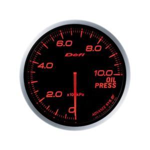 デフィ メーター Defi-Link Meter ADVANCE BF アドバンスBF φ60 油圧計 0kPa〜1000kPa アンバーレッド DF10202|marucorp