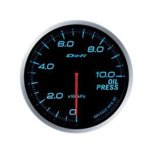 デフィ メーター Defi-Link Meter ADVANCE BF アドバンスBF φ60 油圧計 0kPa〜1000kPa ブルー DF10203|marucorp