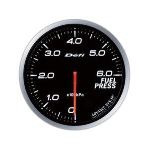 デフィ メーター Defi-Link Meter ADVANCE BF アドバンスBF φ60 燃圧計 0kPa〜600kPa ホワイト DF10301|marucorp