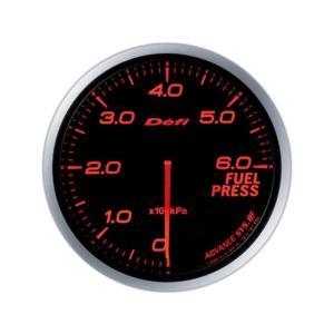 デフィ メーター Defi-Link Meter ADVANCE BF アドバンスBF φ60 燃圧計 0kPa〜600kPa アンバーレッド DF10302|marucorp