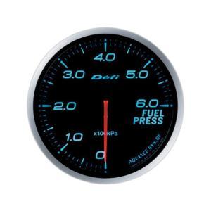 デフィ メーター Defi-Link Meter ADVANCE BF アドバンスBF φ60 燃圧計 0kPa〜600kPa ブルー DF10303|marucorp