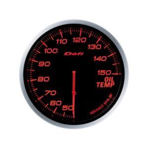 デフィ メーター Defi-Link Meter ADVANCE BF アドバンスBF φ60 油温計 50℃〜150℃ アンバーレッド DF10402|marucorp