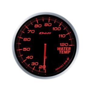 デフィ メーター Defi-Link Meter ADVANCE BF アドバンスBF φ60 水温計 20℃〜120℃ アンバーレッド DF10502|marucorp