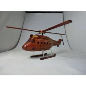 手作り木製模型 ヘリコプター HEL-006|marucorp
