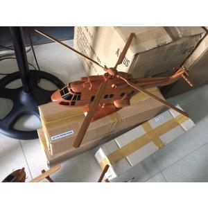手作り木製模型 ヘリコプター AS332 SUPER PUMA HEL-013|marucorp